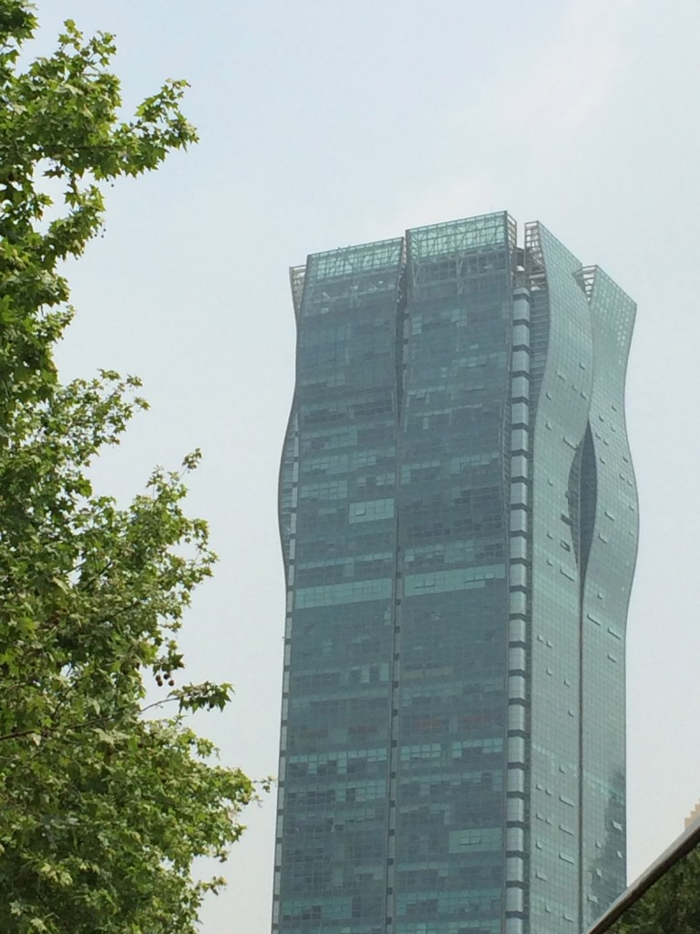 Just another odd Shanghai bldg